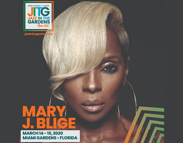 Photo of Mary J Blige for Jazz in the Gardens 2020