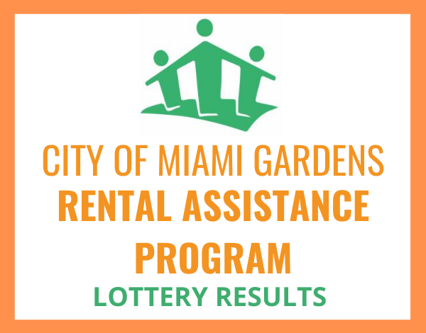 RENTAL ASSISTANCE PROGRAM LOTTERY RESULTS