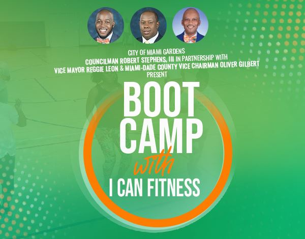 Flyer for Boot Camp With I Can Fitness