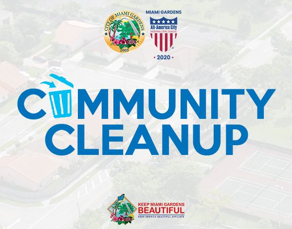 Flyer for Community Cleanup